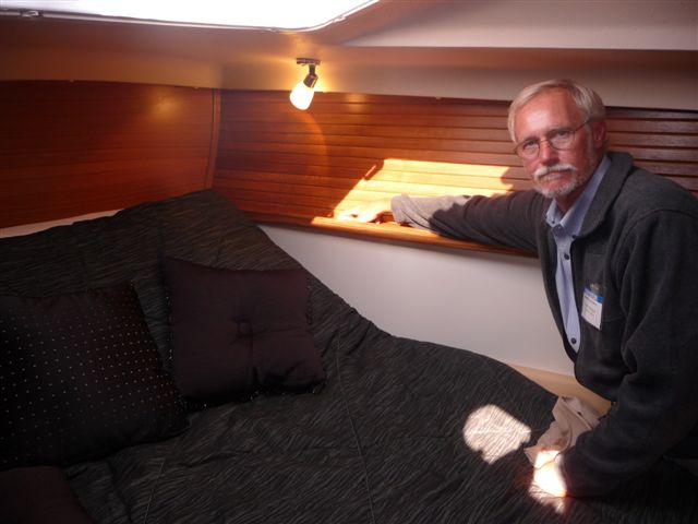 Gerry Douglas on Catalina 445