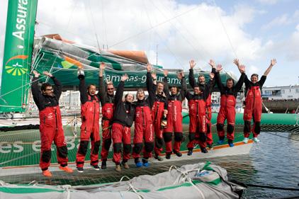 Crew of Groupama