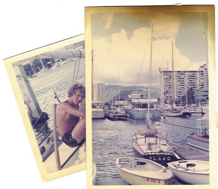 Ivo van Laake in Hawaii, 1970