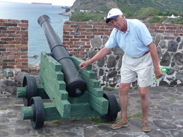 Cannon at Fort Oranje, Statia