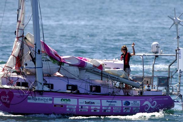 Jessica Watson on Ella's Pink Lady