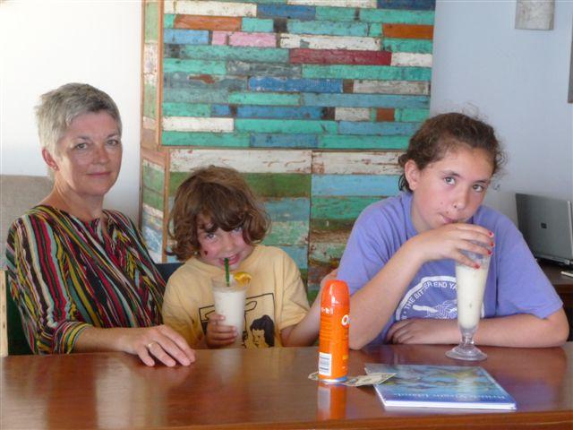 The bar at the Cooper Island Beach Club