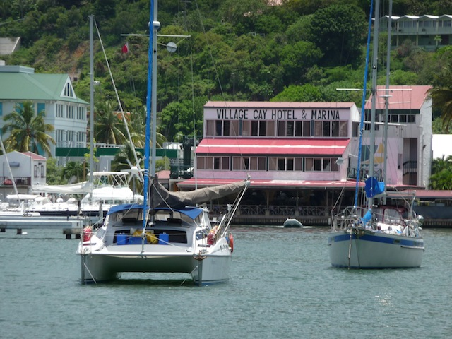 Village Cay Marina in Tortola