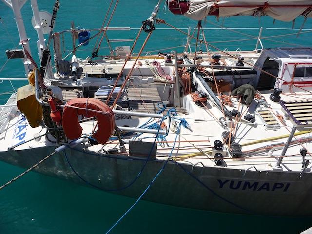 Yumapi cockpit