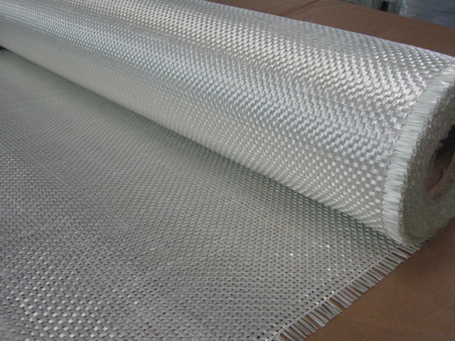 Fiberglass fabric, woven roving