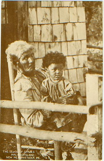 Residents of Malaga Island