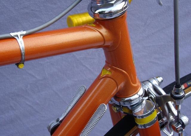 Masi vintage bicycle detail
