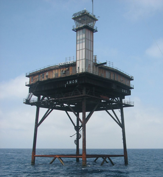 Diamond Shoals light tower
