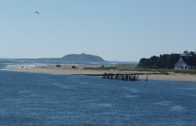 Seguin Island from Popham Beach