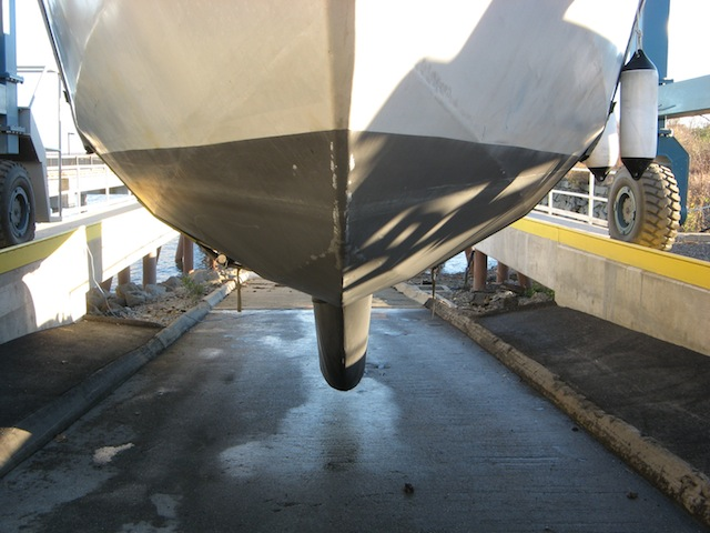 Ultrasonic Antifouling test results