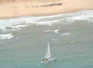 Yacht Coizil aground in Somalia