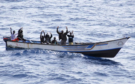 Somalian pirates