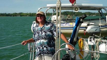 Milan Egrmajer aboard Adena