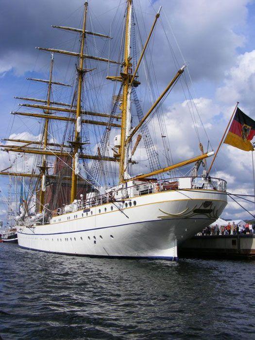 German tall ship Gorch Fock