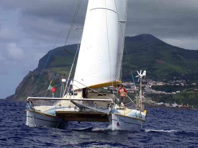 Pahi 42 under sail