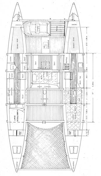 Pahi 42 interior plan