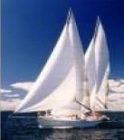 Tanton 37 under sail
