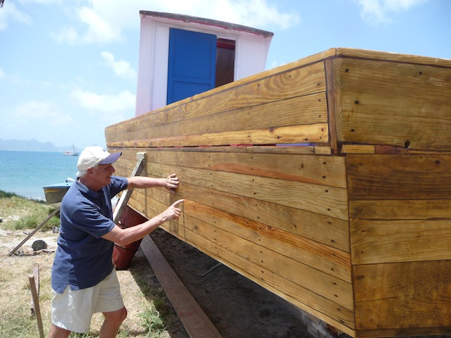 Boatbuilding on Petit Martinique