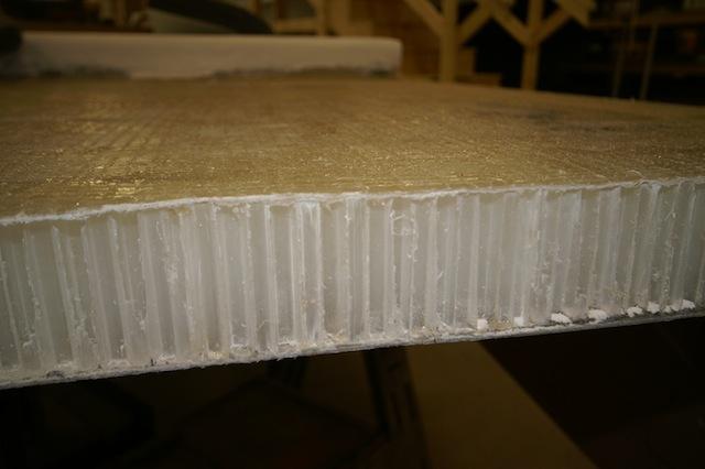 Honeycomb core