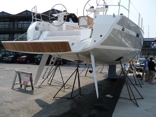 Bavaria Yachts twin rudders
