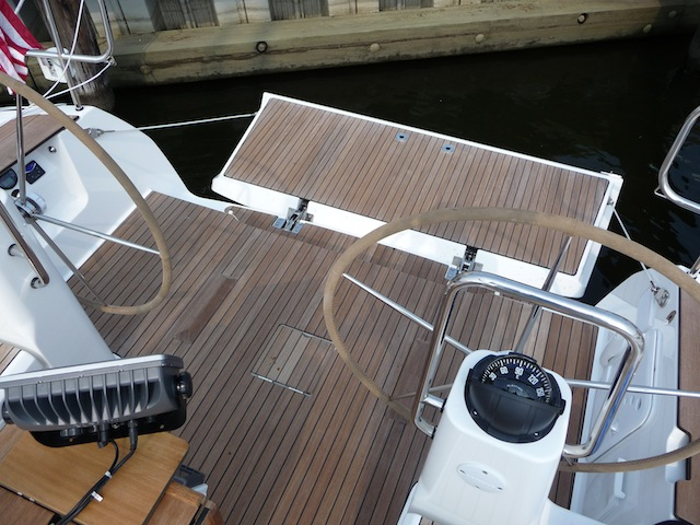 Bavaria Yachts transom