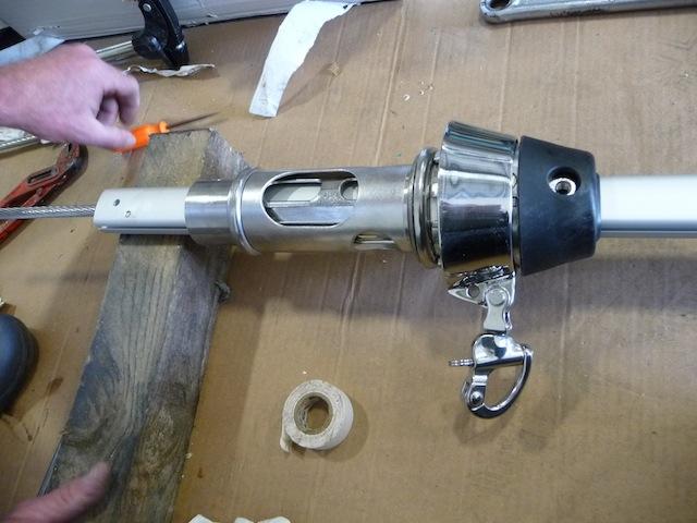 Furler bearing assembly
