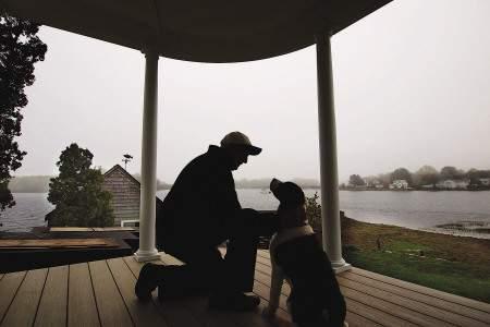 Charles Lassen on Round Island