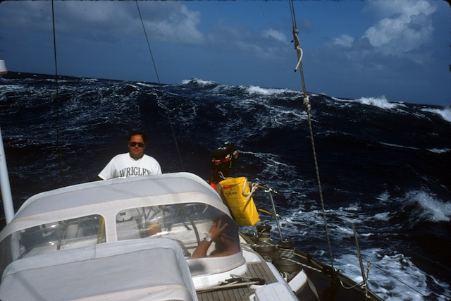 Tradewind sailing