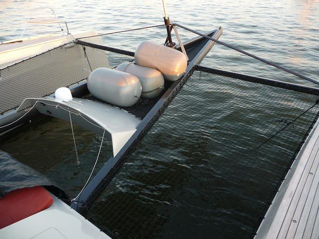 Alibi 54 bowsprit
