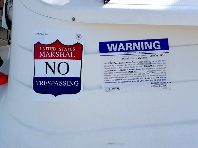 U.S. Marshal notice