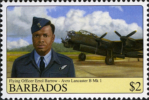 Barbados stamp, Earl Barrow