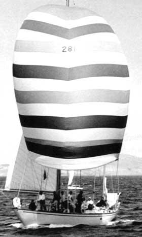 Ondine in 1962 Sydney Hobart Race