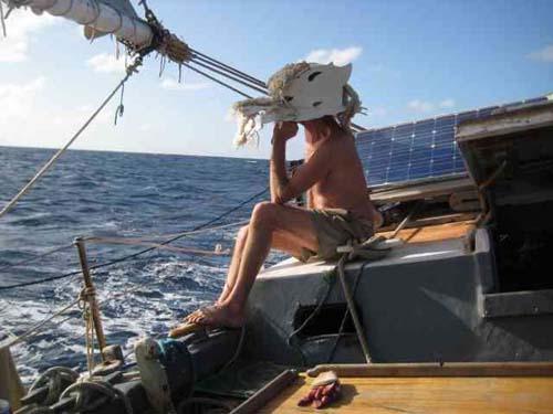 Reid Stowe aboard Anne