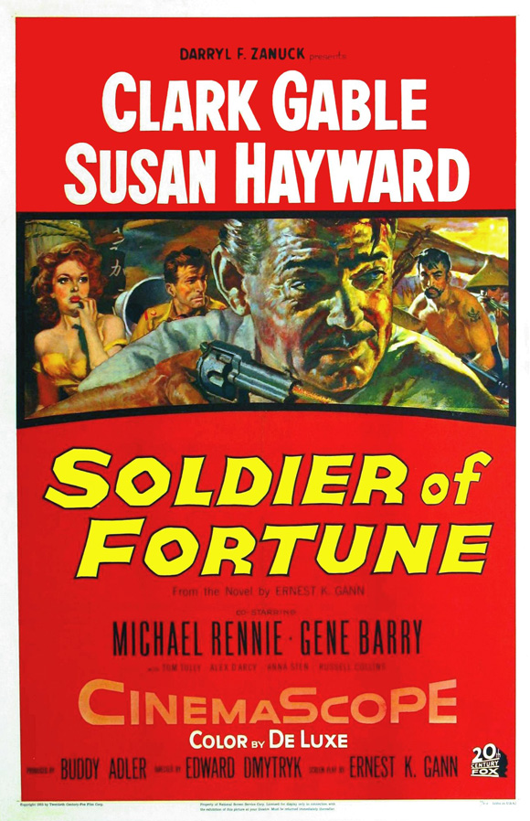 Soldier of Fortune film poster