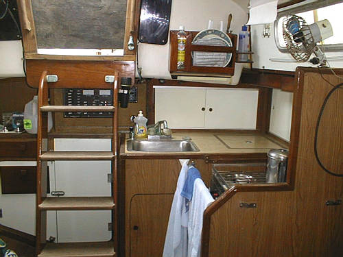 Allied Princess interior