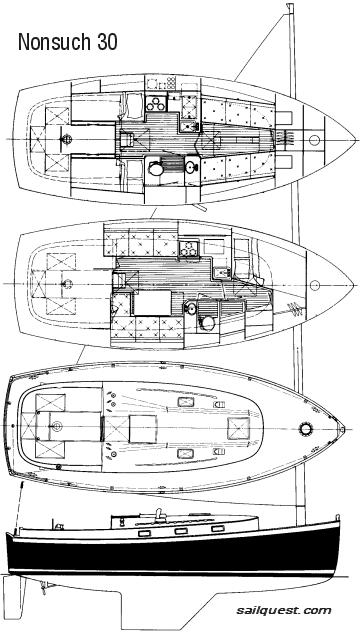 Nonsuch 30 drawing