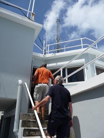 Bermuda Radio visit
