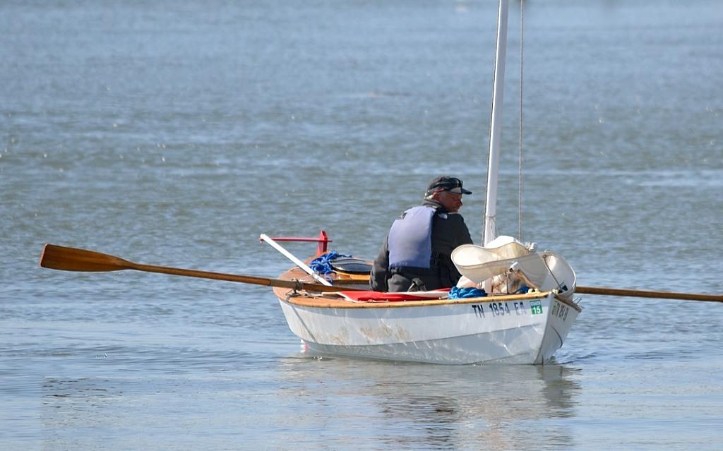 John Guider afloat