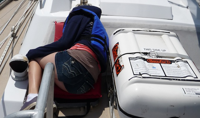 Sailing on Lunacy