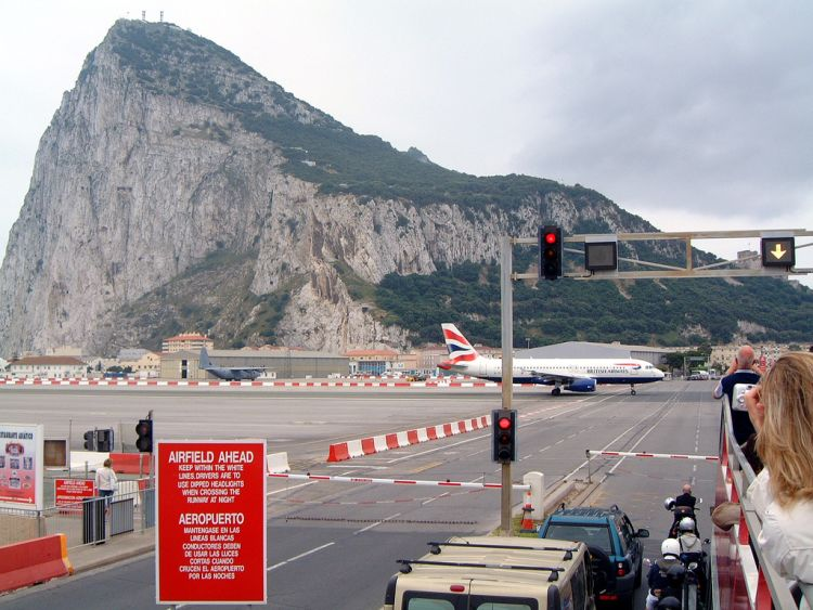 Gibraltar airfield