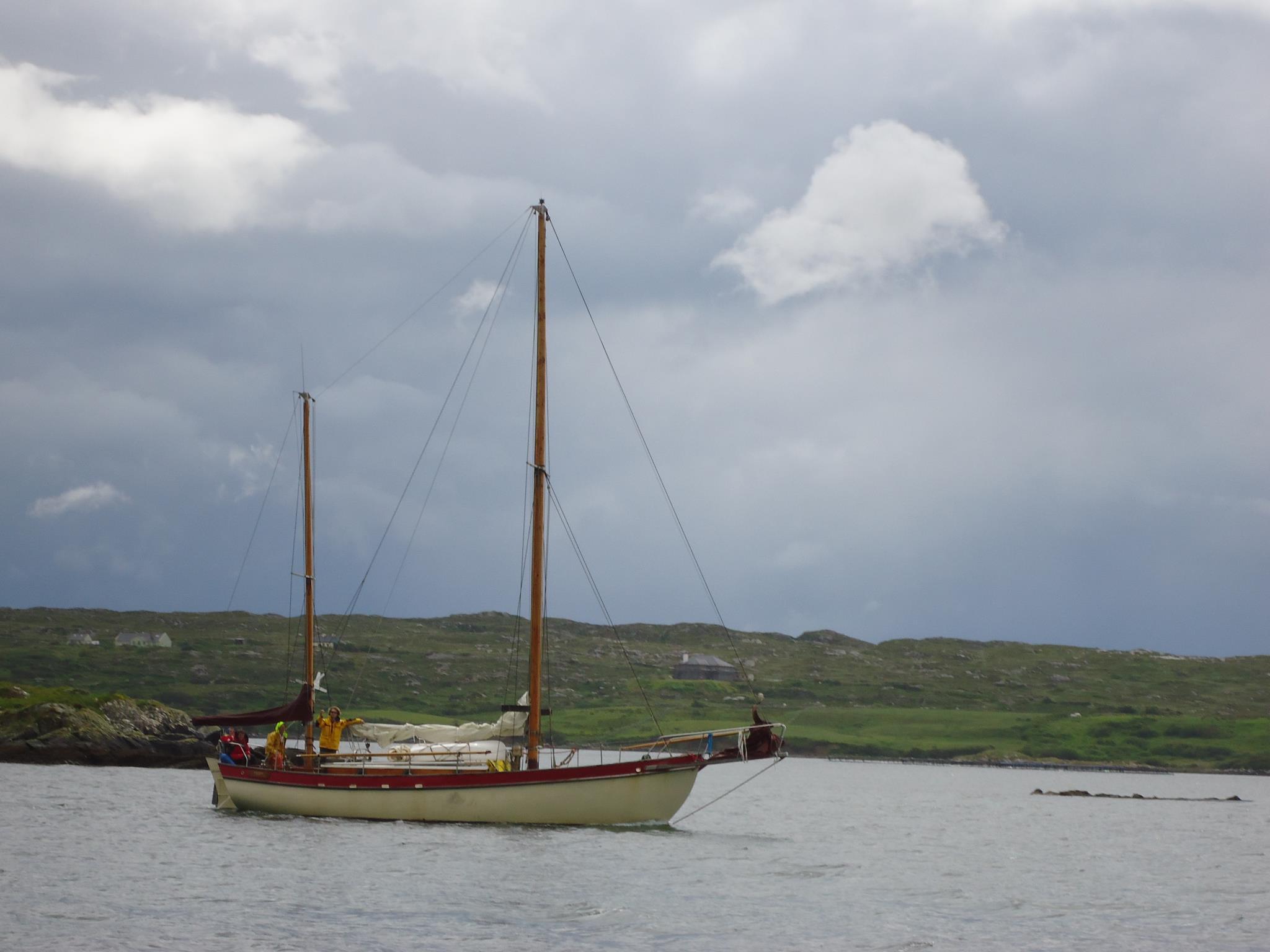 Teddy departs Ireland, June 2012
