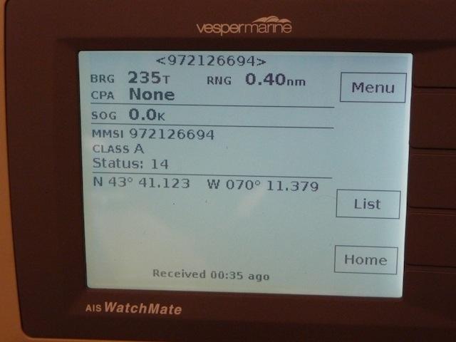 Vesper AIS receiver