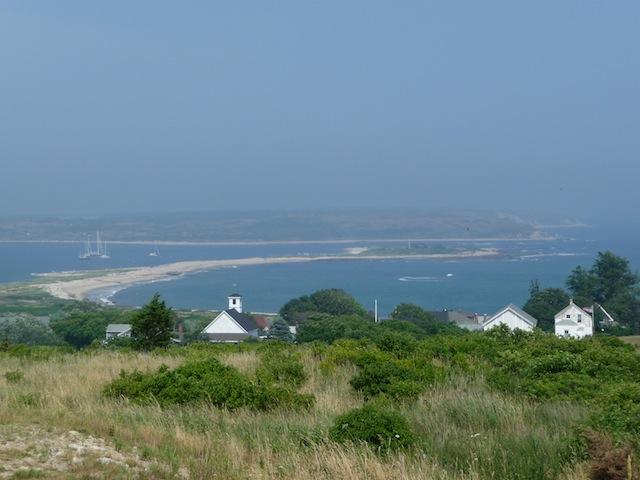 View from Cuttyhunk Island