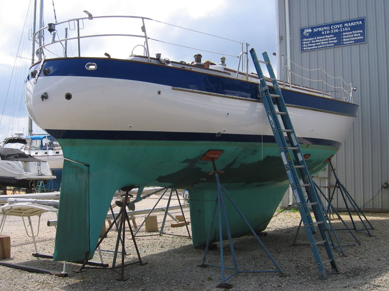 Valiant 40 hull