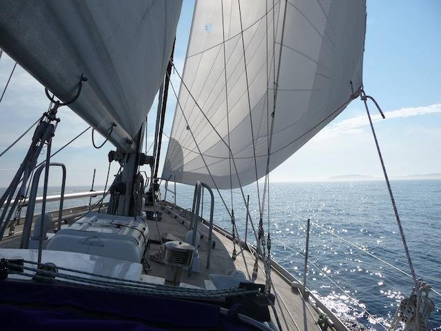 Lunacy under sail