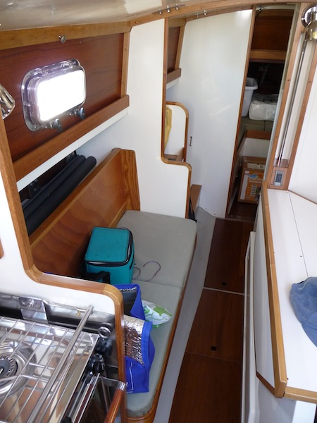 Petrel galley