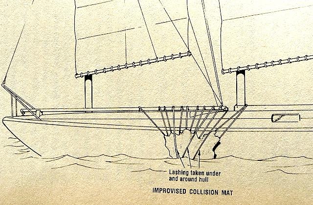 Sailboat hull repairs