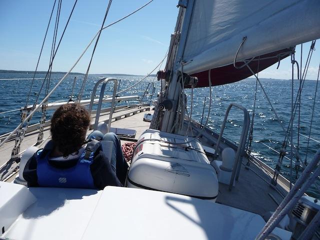 Una aboard Lunacy