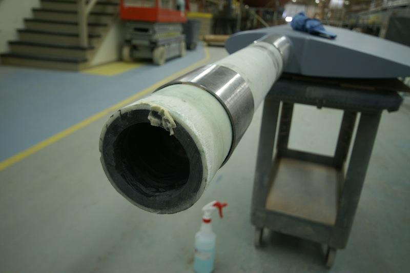 Carbon-fiber rudderstock