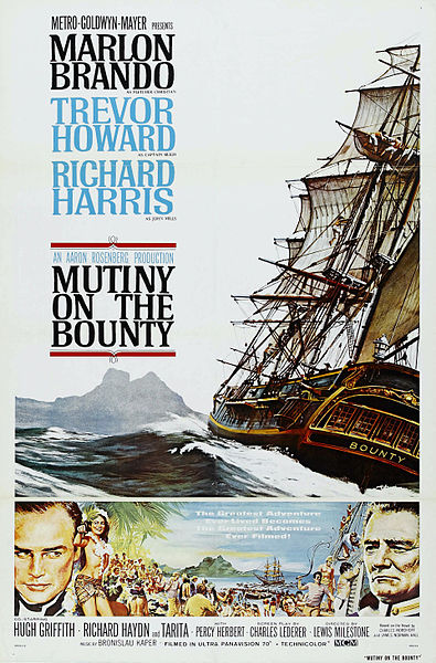 Mutiny on the Bounty film poster